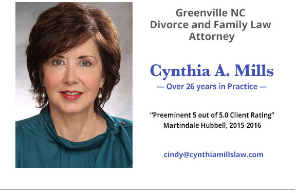 Cynthia A. Mills - Greenville NC Divorce and Family Lawyer